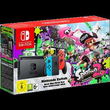 Nintendo Switch Switch + Splatoon 2 für nur €416.01