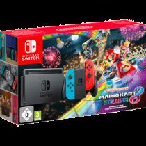 Neon Blue / Red Nintendo Switch 32GB + Mario Kart 8 Deluxe von Saturn zum €329.00