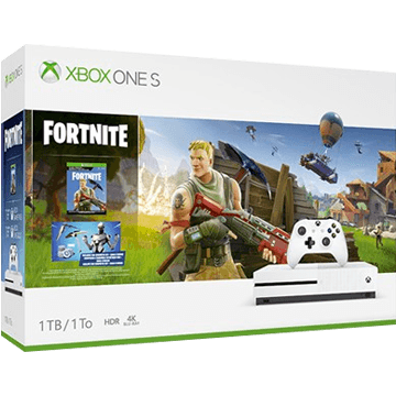Xbox One S + Fortnite + Xbox Live 3 Months Gold Membership für nur €299.98