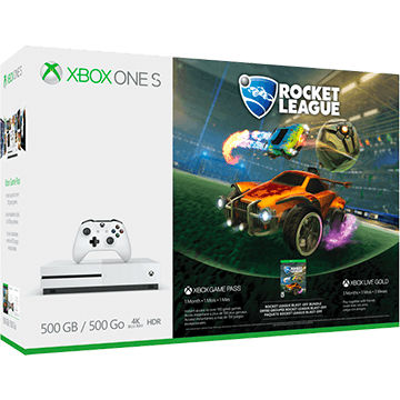Xbox One S + Rocket League Collector's Edition + Xbox Live 3 Months Gold Membership für nur €238.27