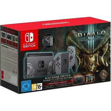 Nintendo Switch Switch + Diablo III: Eternal Collection für nur €369.00