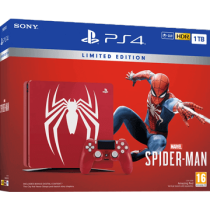 Black PS4 Slim 1TB + Marvel's Spider-Man von Amazon DE zum €399.99