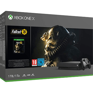 Xbox One X + Fallout 76 für nur €499.99
