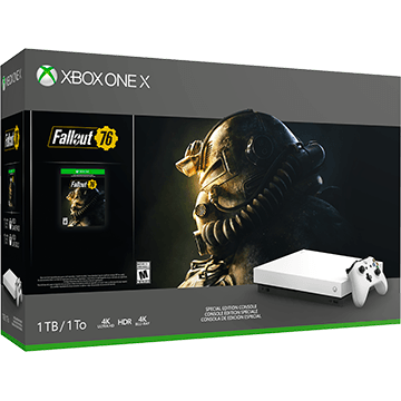 Xbox One X + Fallout 76 für nur €399.00