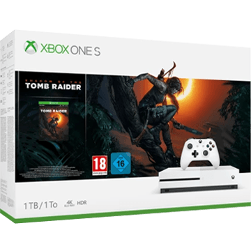 Xbox One S + Shadow of the Tomb Raider für nur €299.99