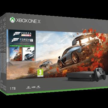 Xbox One X + Forza Motorsport 7 + Forza Horizon 4 für nur €379.00