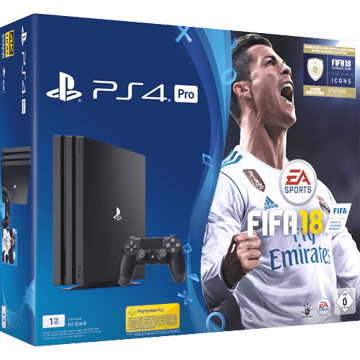 PS4 Pro + FIFA 18 für nur €439.00