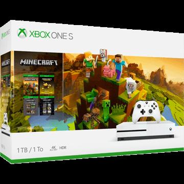 Xbox One S + Minecraft Story Mode: The Complete Adventure + Minecraft Explorer's Pack für nur €229.00