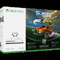 White Xbox One S 1TB + Rocket League Collector's Edition and Xbox Live 3 Months Gold Membership von Amazon DE zum €199.99
