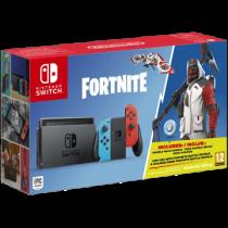 Neon Blue / Red Nintendo Switch 32GB + 1000 V-Bucks and Fortnite von Amazon DE zum €299.99