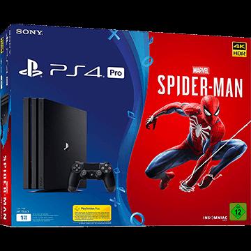 PS4 Pro + Marvel's Spider-Man für nur €439.00