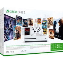 White Xbox One S 1TB + Xbox Game Pass 3 Months Membership and Xbox Live 3 Months Gold Membership von Computer Universe zum €219.00
