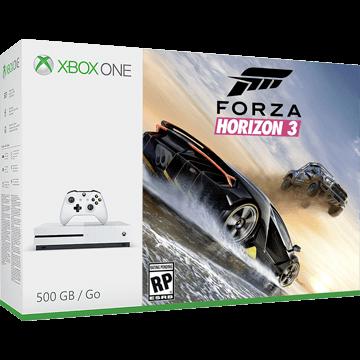 Xbox One S + Forza Motorsport 7 + Forza Horizon 3 für nur €236.95