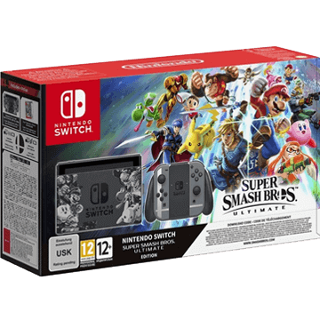 Nintendo Switch Switch + Super Smash Bros Ultimate für nur €359.00