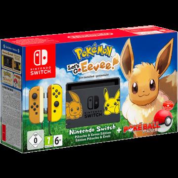 Nintendo Switch Switch + Pokemon Let's Go Eevee! + Nintendo Switch Poké Ball Plus für nur €399.00