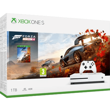 Xbox One S + Forza Horizon 4 + Red Dead Redemption 2 für nur €294.03